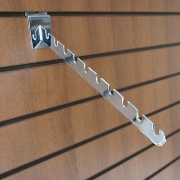 10 Notch Sloping Arm for slatwall
