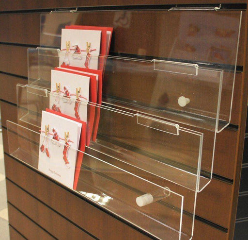3 tier card racks