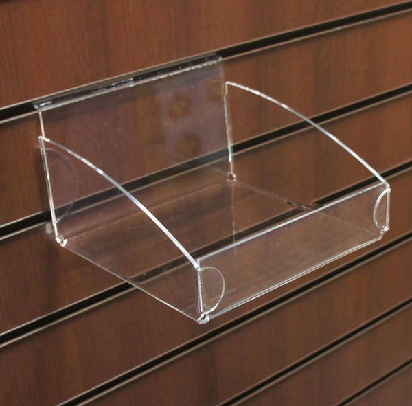 Square Clear Display Bin