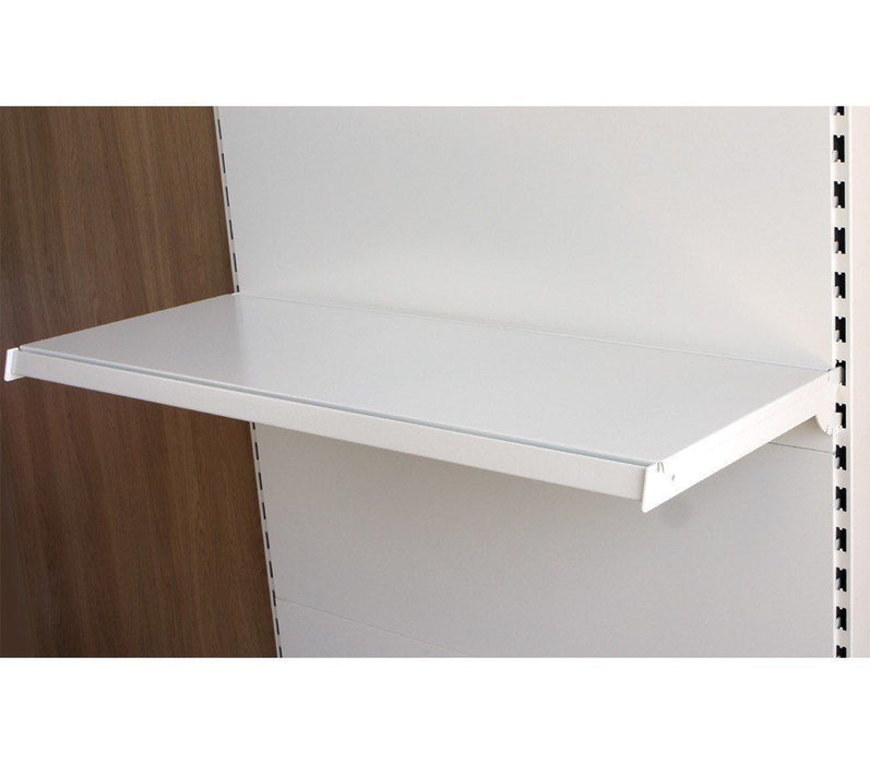 Shelf Bracket (pair), Ivory White - 20cm to 47cm