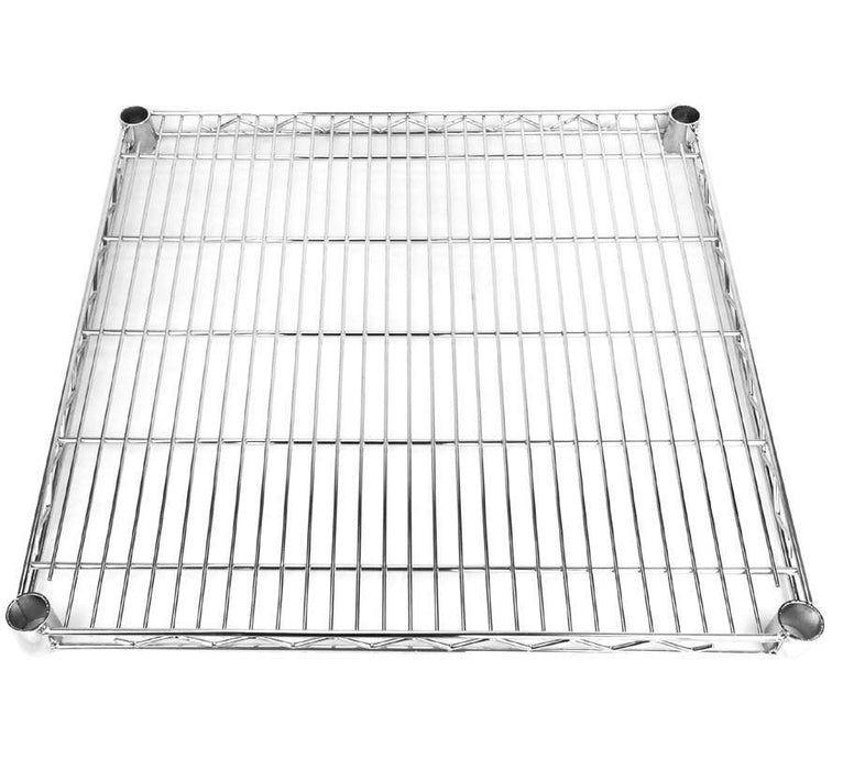 Square chrome wire shelf 61 x 61cm (2ft x 2ft)