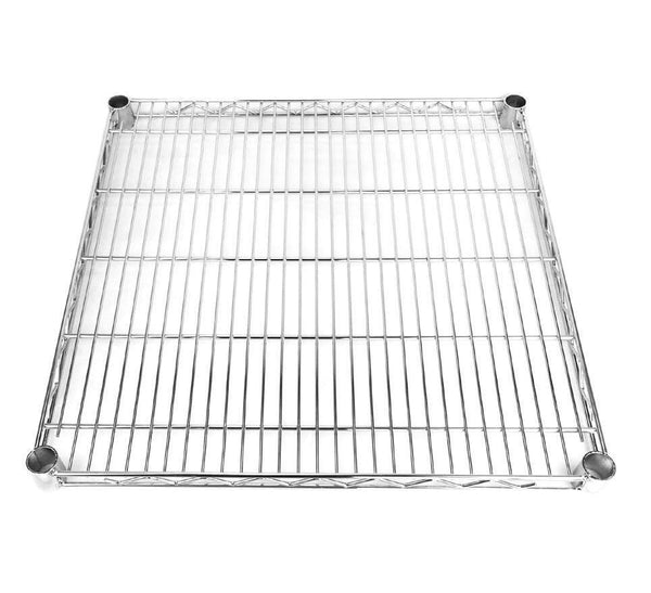 Square Chrome Wire Shelf - 46 x 46cm
