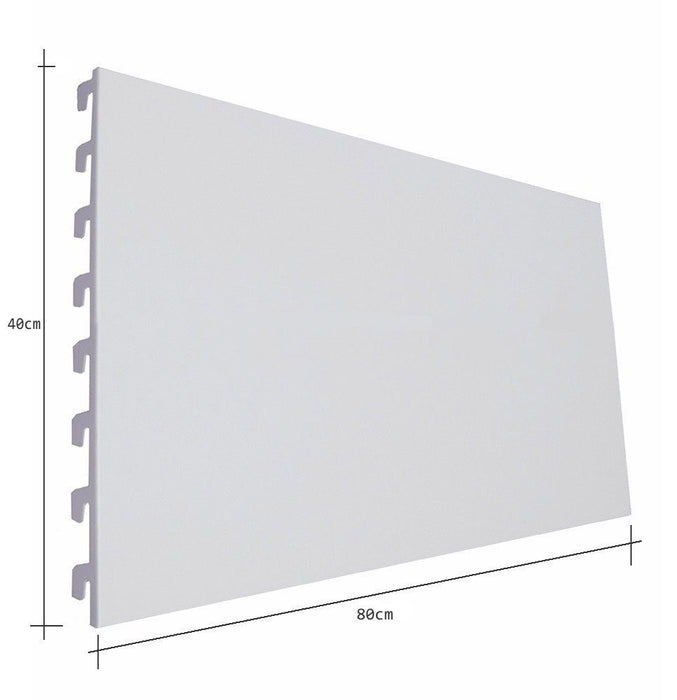 Back Panels, Plain, Ivory White - 80cm wide