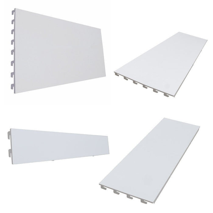 Back Panels, Plain, Ivory White - 66.5cm wide