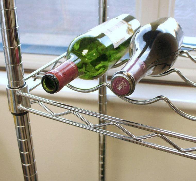 9 Bottle Wine Shelf - 91.5 x 35.5cm (36 x 14in)