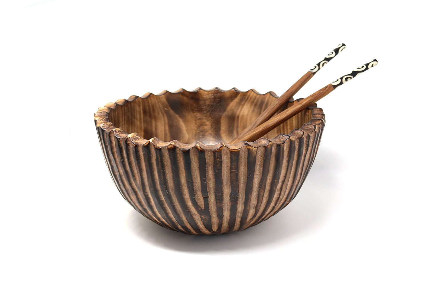 Jacaranda Striped Bowls, various sizes