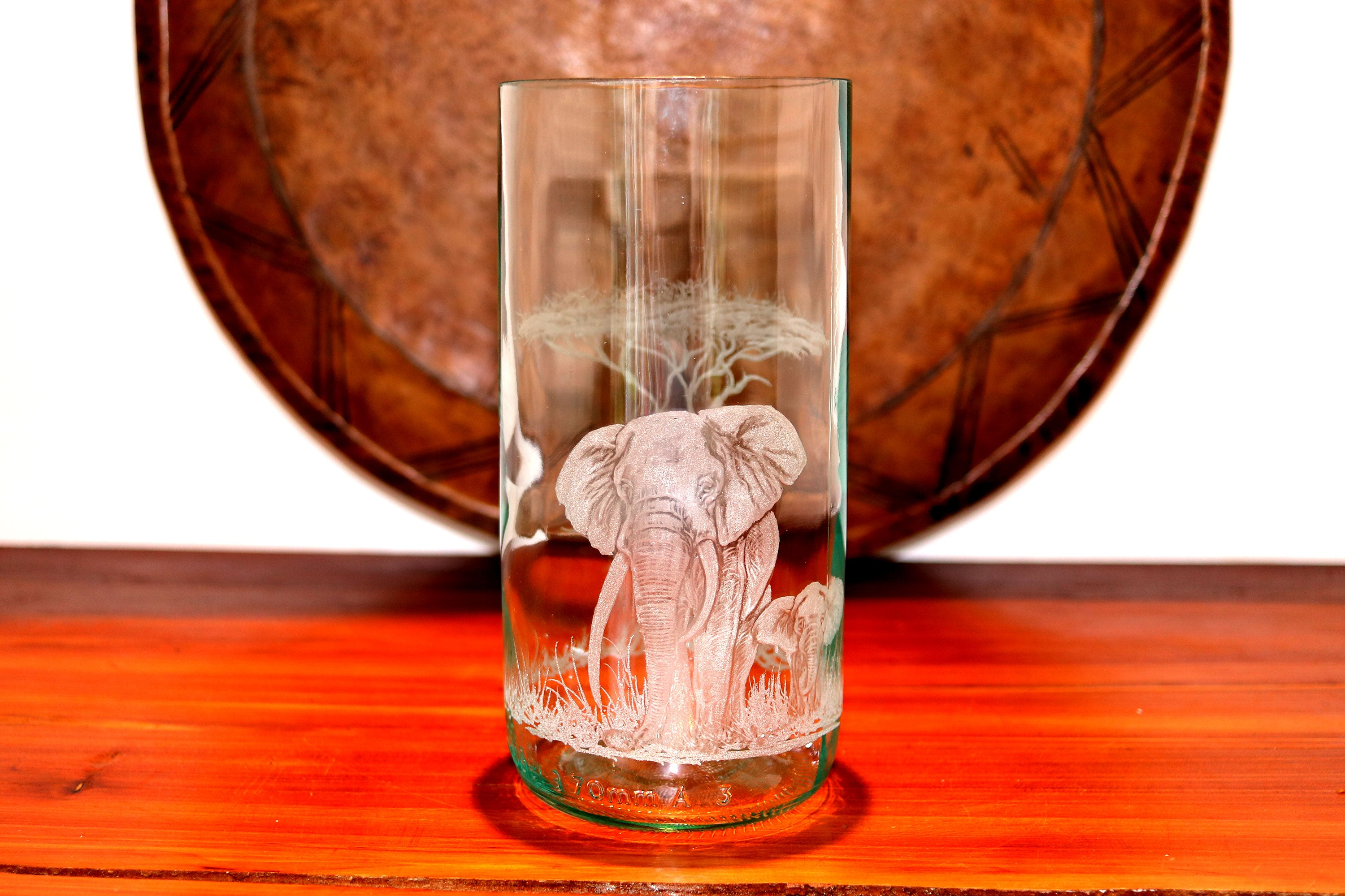 Large Elephant Vase/Candle Holders - ASSiA