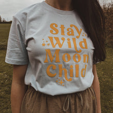 Load image into Gallery viewer, WHITE DAYDREAMER RAINBOW KIDS TEE