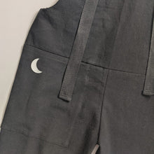 Load image into Gallery viewer, BLACK MOON PRINT KIDS DUNGAREES