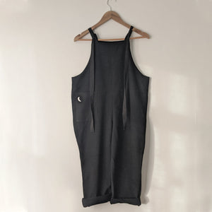 BLACK MOON PATCH POCKET ADULT DUNGAREES