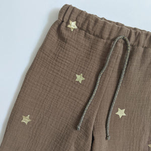 GOLD STAR TROUSERS IN SAND