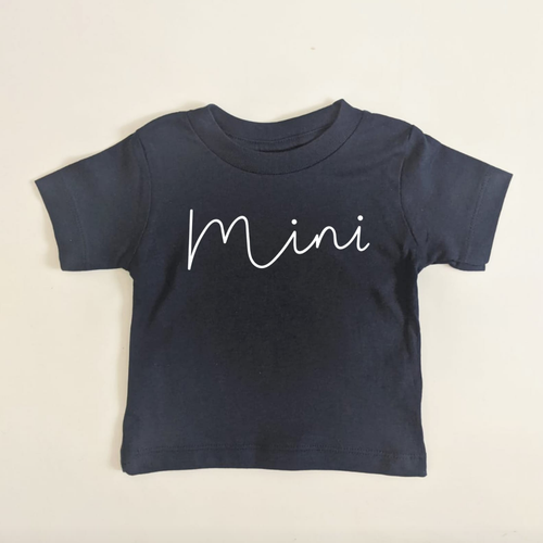MINI TEE IN NAVY