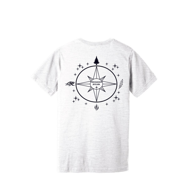 Crossing Star Logo V- Neck