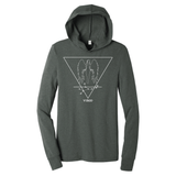 Virgo Hooded Long Sleeve Shirt