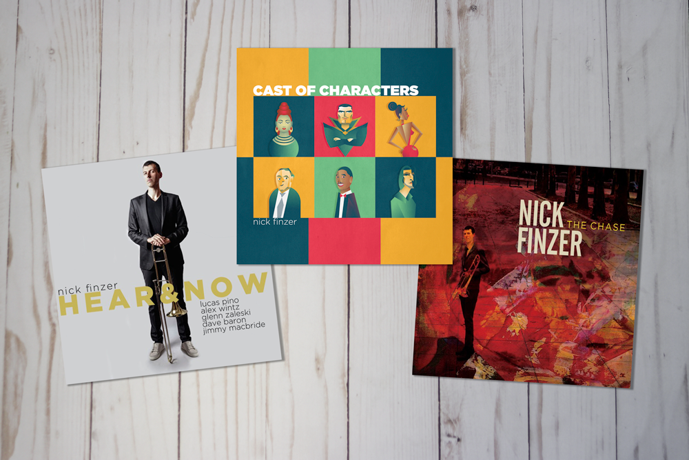 Nick Finzer Album 3 Pack - Limited time!