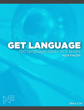 Load image into Gallery viewer, GET LANGUAGE (Hardcopy) 150 Language Ideas across Five levels!