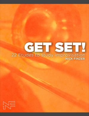 Get Set (signed hardcopy!): 22 Jazz Trombone Etudes to Study Jazz Improvisation