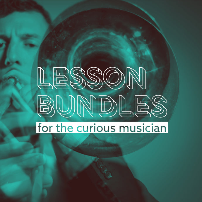 Lessons with Nick Finzer, Single and Bundles!