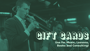 Nick Finzer Music Gift Cards!