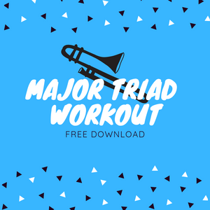 Major Triad Workout - Nov. 2018 - Free Download!