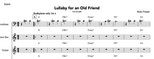 Lullaby for an Old Friend PDFs (from Hear & Now)