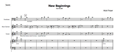 New Beginnings PDFs (from Hear & Now)