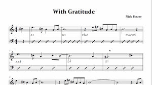 With Gratitude (from Exposition)