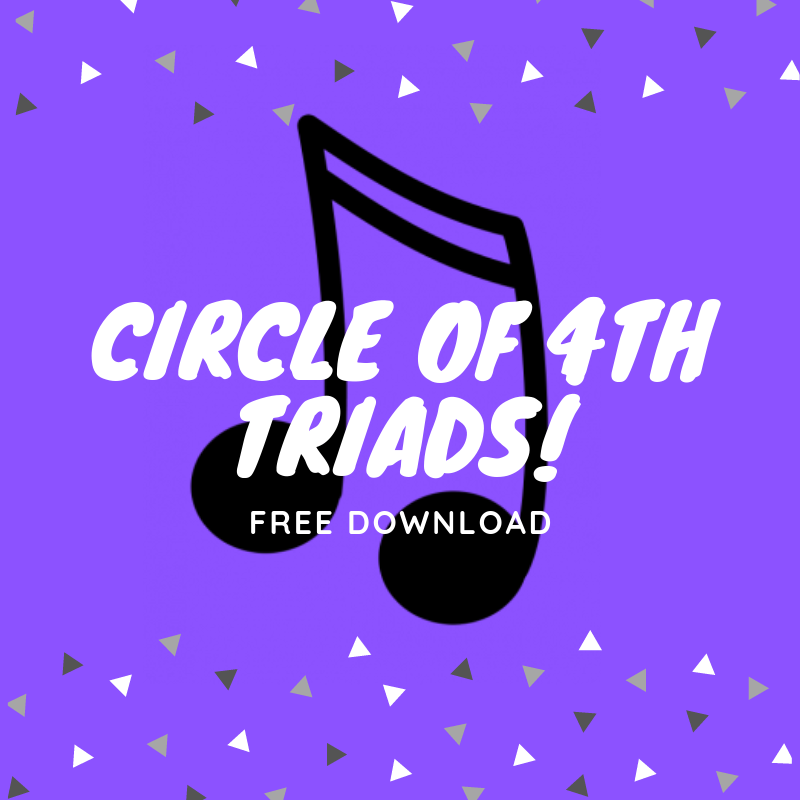 Circle of 4ths (all triads!)