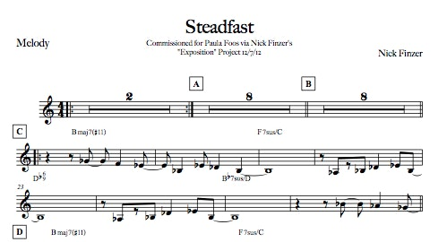 Steadfast - Digital Sheet Music