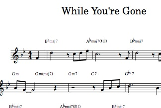 While You're Gone - Digital Sheet Music