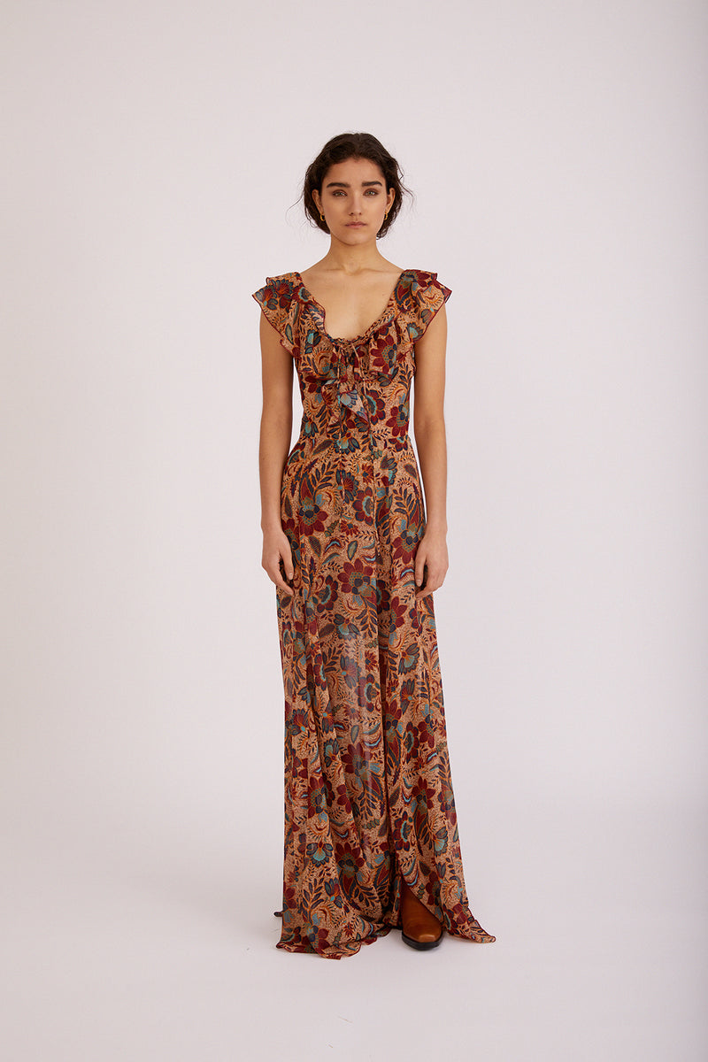 Melisa Dress, Zulu Print