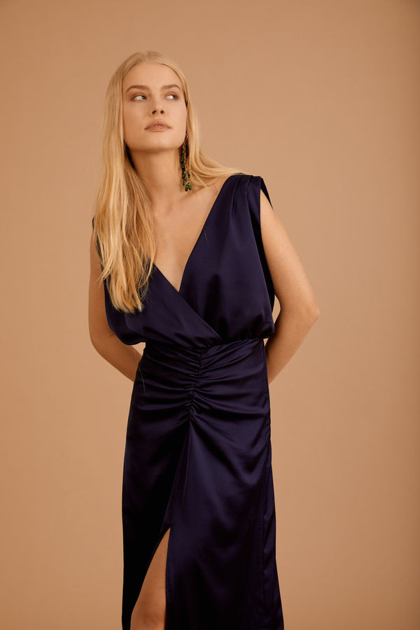 Vera Dress, Navy