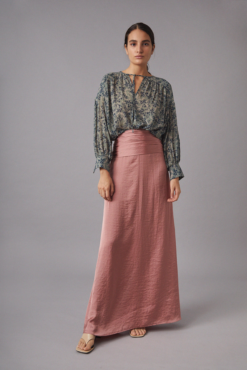 Elise Skirt, Dusty Pink