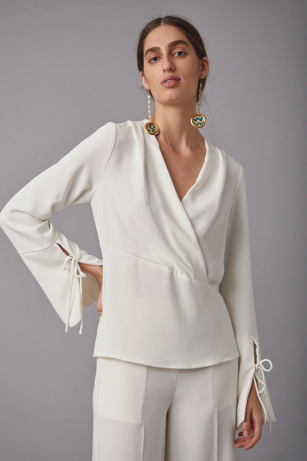 Lucie Blouse, Ivory
