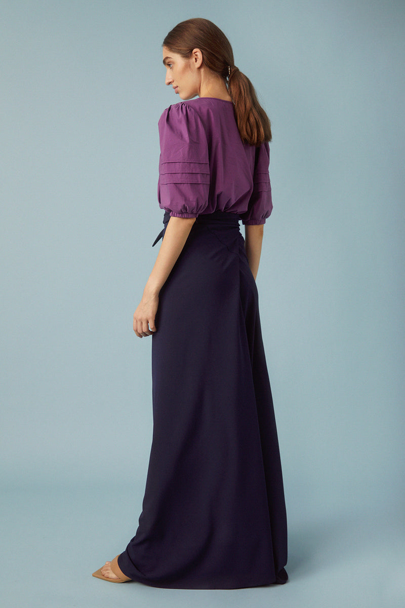 Louise Blouse, Purple