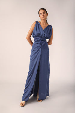 Vera Dress, Blue