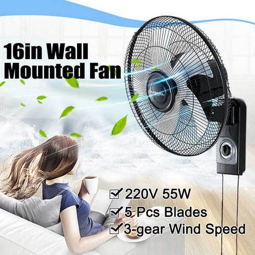 Wall Mounted Fan Oscillating Fan
