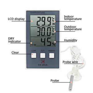 Digital Weather Station Thermometer
