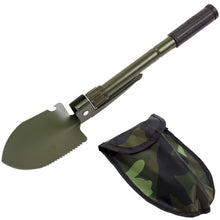 Load image into Gallery viewer, Military Portable Folding Shovel