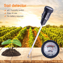 Load image into Gallery viewer, Soil PH Moisture Meter Tester