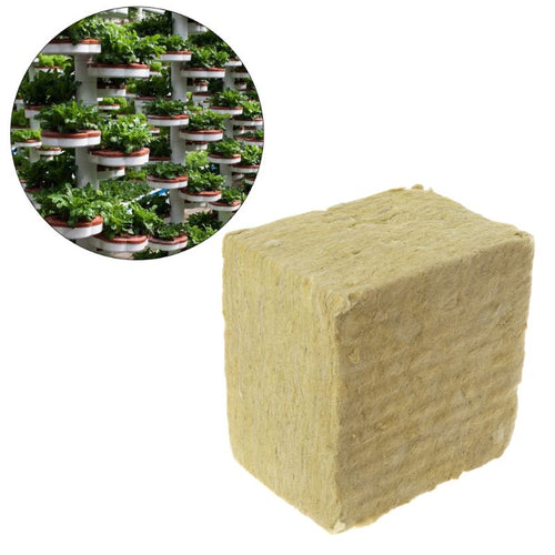 Rockwool Cubes Hydroponic Compress Base