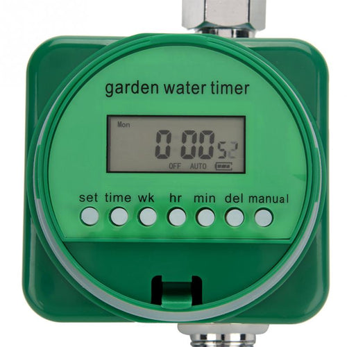 Rain Sensor LCD Display Water Timer