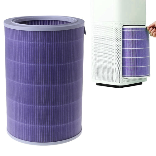 Cartridge Carbon Fiber Air Purifier