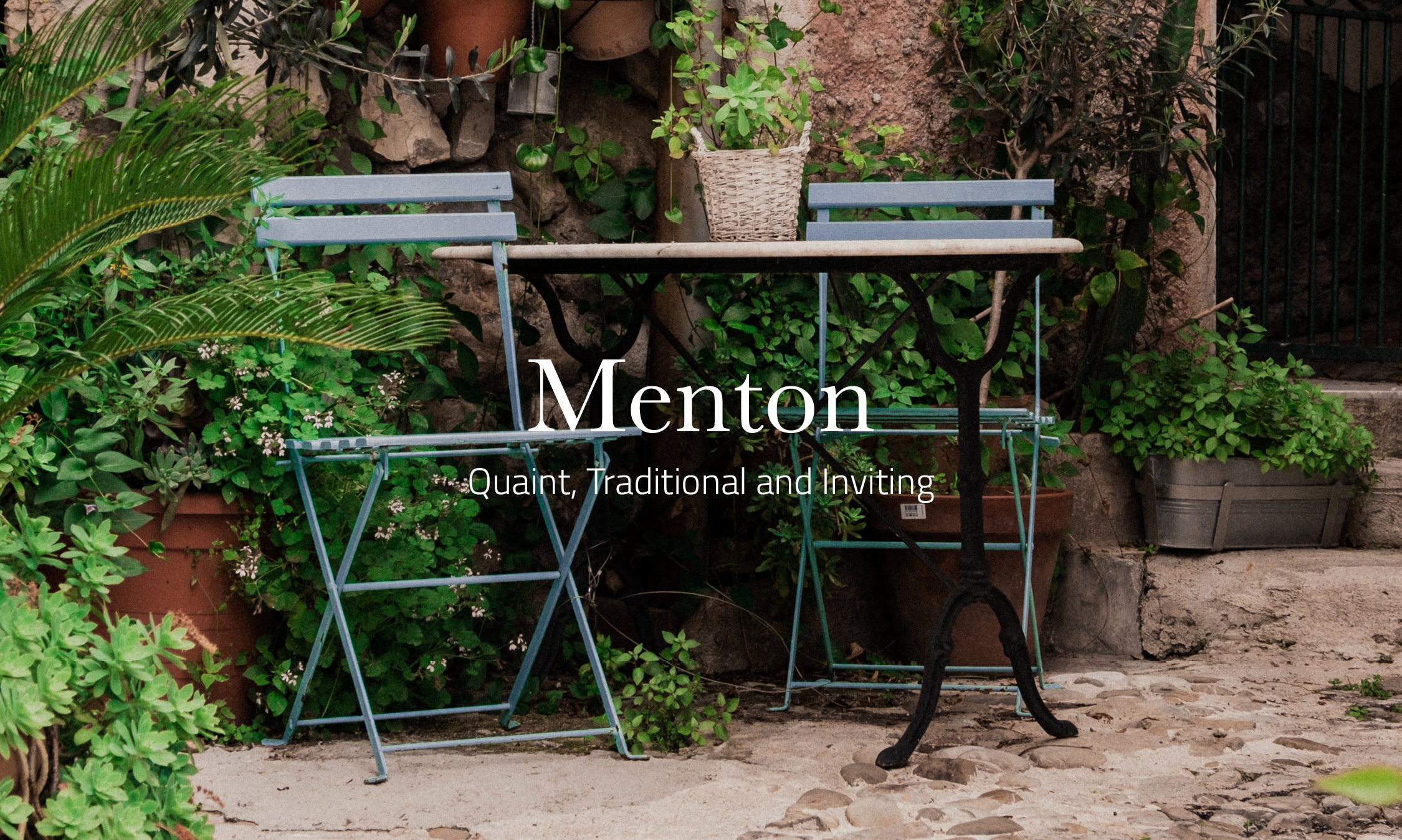 The Aesthetic of Menton: Quaint, Traditional and Inviting