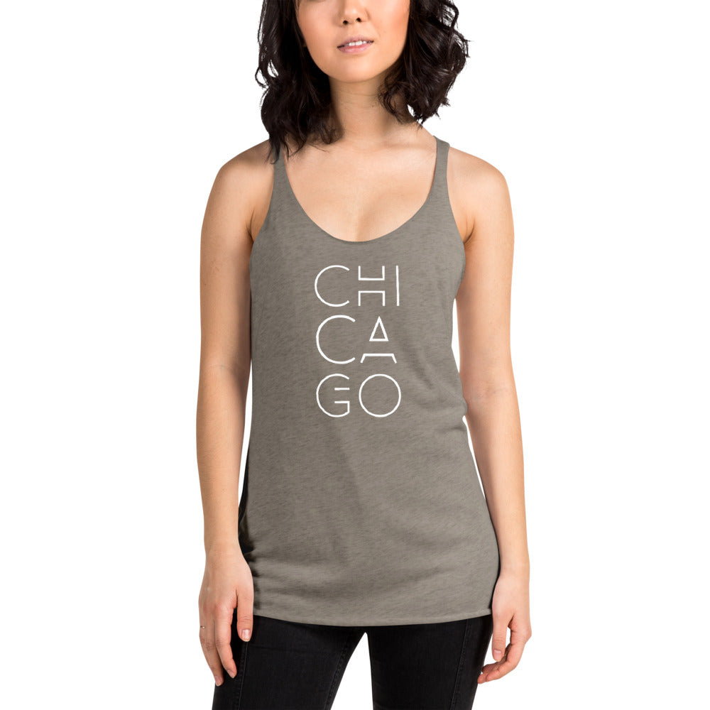 Women's CHICAGO Racerback Tank