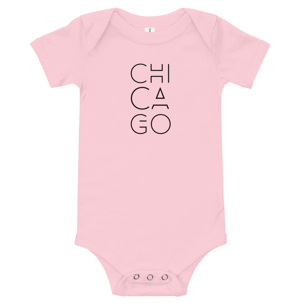 Chicago design Baby Onesie