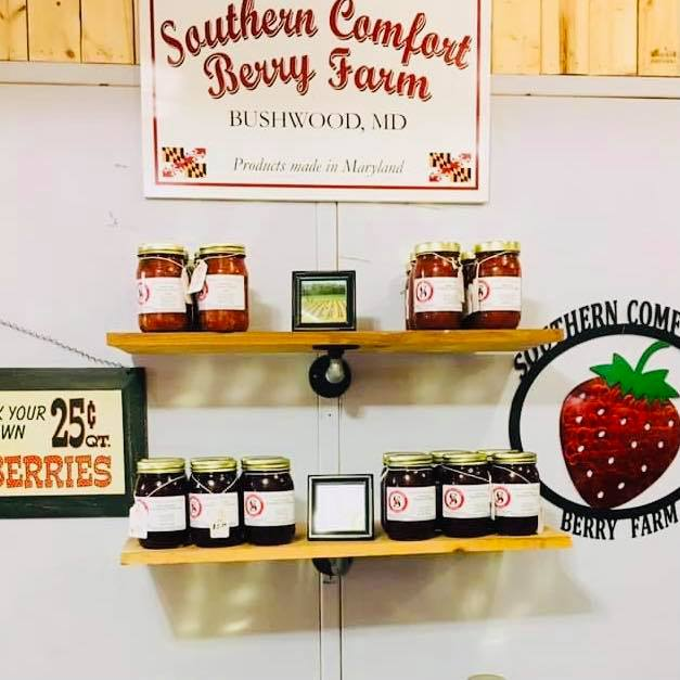 Southern Comfort Berry Farm Butters Preserves Bowling Green Farm