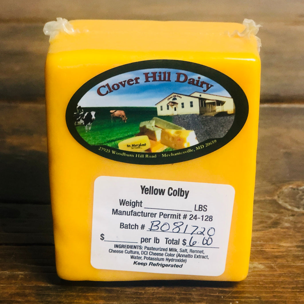 Yellow Colby Cheese