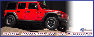 Shop Wrangler JL Parts
