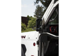 11025.24 Rugged Ridge Trail Mirror, Rectangular, Gladiator, Wrangler Installed